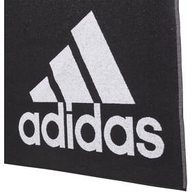 adidas Asciugamano L, nero/bianco